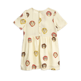 Designer Kids Fashion at Bloom Moda Online Children's Boutique - Mini Rodini Monkeys Woven Dress,  Dress