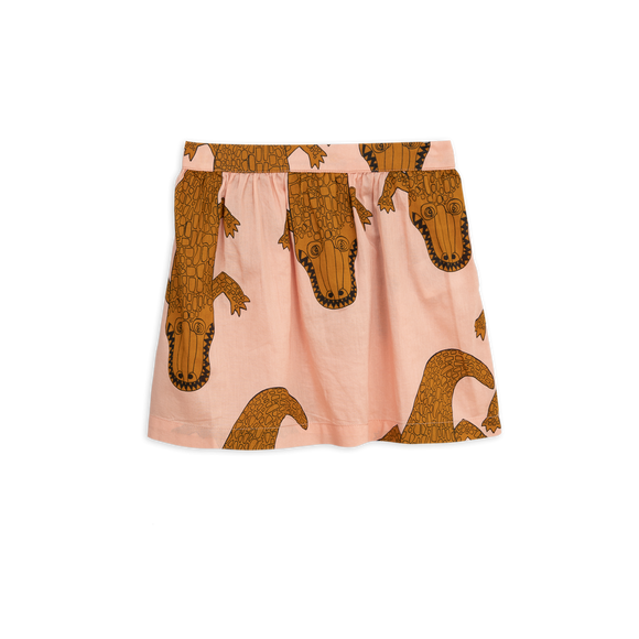 Designer Kids Fashion at Bloom Moda Online Children's Boutique - Mini Rodini Crocco Woven Pink Skirt,  Skirt