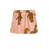 Mini Rodini Crocco Woven Pink Skirt - Bloom Moda
