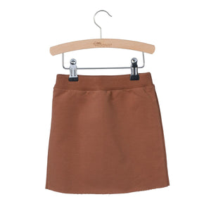Designer Kids Fashion at Bloom Moda Online Children's Boutique - Little Hedonist Maggy Skirt - Mocha,  Skirt
