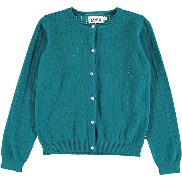 Designer Kids Fashion at Bloom Moda Online Children's Boutique - Molo Georgina Cardigan Sweater,  Sweaters