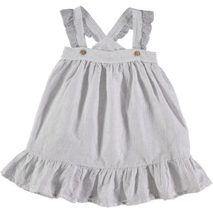 Designer Kids Fashion at Bloom Moda Online Children's Boutique - Búho Blanche Sleevless Striped Dress,  Dress