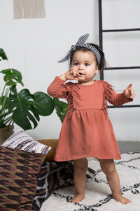 Designer Kids Fashion at Bloom Moda Online Children's Boutique - Little Indians Boho Dress,  Dress