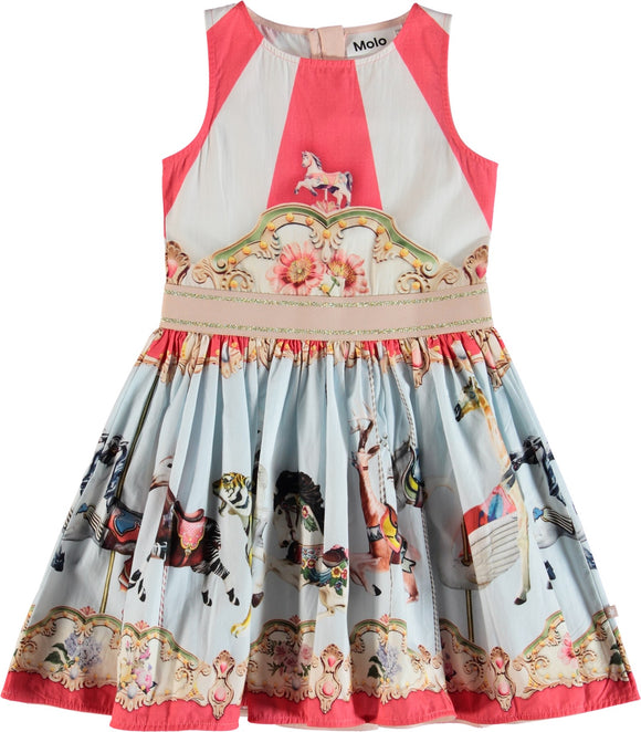 Designer Kids Fashion at Bloom Moda Online Children's Boutique - Molo Carli Dress,  Dress