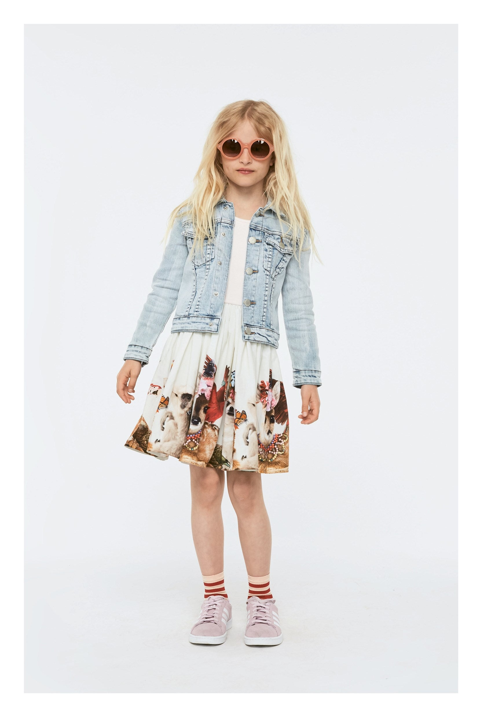 Designer Kids Fashion at Bloom Moda Online Children's Boutique - Molo Cassandra Dress,  Dress