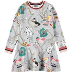 Designer Kids Fashion at Bloom Moda Online Children's Boutique - Molo Conny Long Sleeve Dress,  Dress