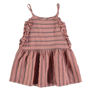 Búho Creta Beach Stripes Dress - Bloom Moda
