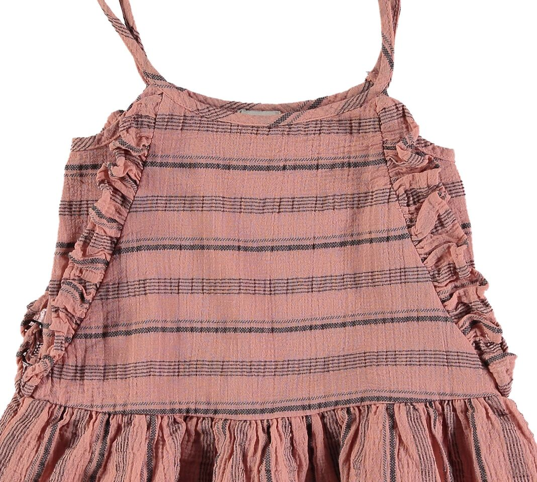 Designer Kids Fashion at Bloom Moda Online Children's Boutique - Búho Creta Beach Stripes Dress,  Dress