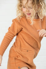 Designer Kids Fashion at Bloom Moda Online Children's Boutique - Little Hedonist Lena Terry Cloth Dress,  Dress