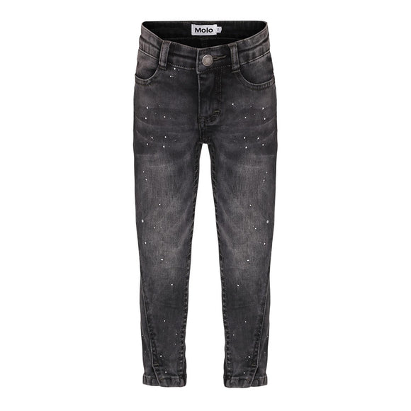 Molo Allison - Washed Black Jeans - Bloom Moda