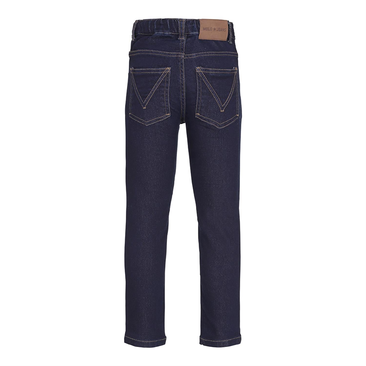 Designer Kids Fashion at Bloom Moda Online Children's Boutique - Molo Augustin Rinse Wash Jeans,  Pants