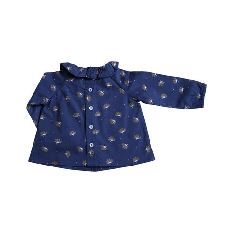 Designer Kids Fashion at Bloom Moda Online Children's Boutique - Lililotte Nantes Charlotte Blouse,  Blouse