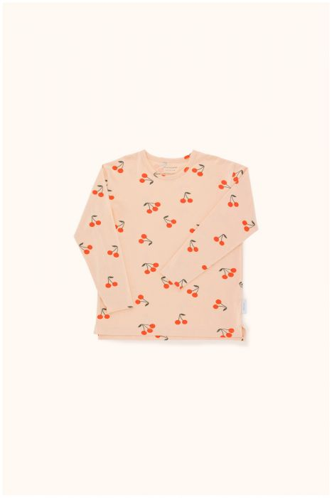 Designer Kids Fashion at Bloom Moda Online Children's Boutique - Tinycottons Cherries Relaxed Shirt,  Shirt
