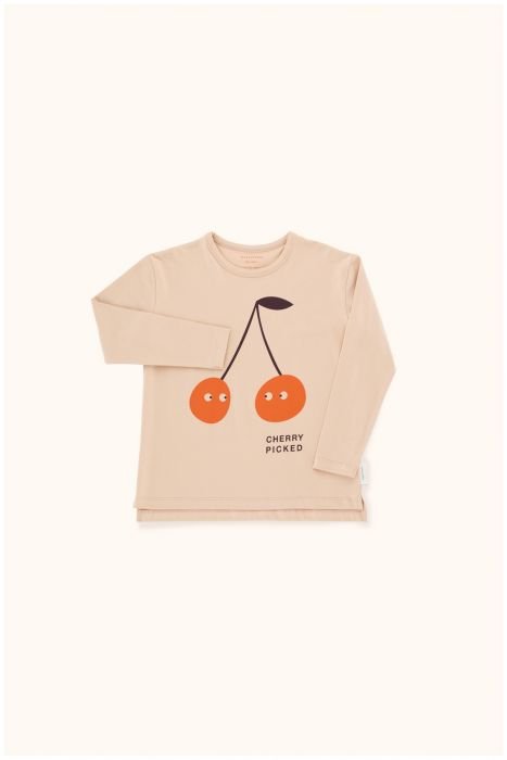 Designer Kids Fashion at Bloom Moda Online Children's Boutique - Tinycottons Cherry Picked Shirt,  Shirt