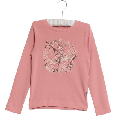 Designer Kids Fashion at Bloom Moda Online Children's Boutique - Wheat Crane T-Shirt,  Shirt