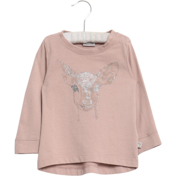 Designer Kids Fashion at Bloom Moda Online Children's Boutique - Wheat Deer Shirt,  Shirt