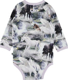 Designer Kids Fashion at Bloom Moda Online Children's Boutique - Molo Fonda Bodysuit,  Bodies