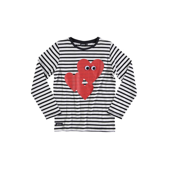 Designer Kids Fashion at Bloom Moda Online Children's Boutique - yporqué Heart Eyes Tee,  Shirt