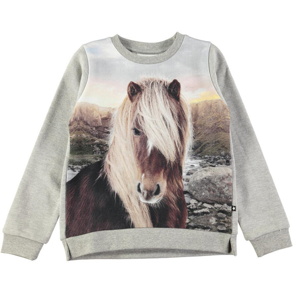Designer Kids Fashion at Bloom Moda Online Children's Boutique - Molo Marlee Long Sleeve Shirt,  Shirt