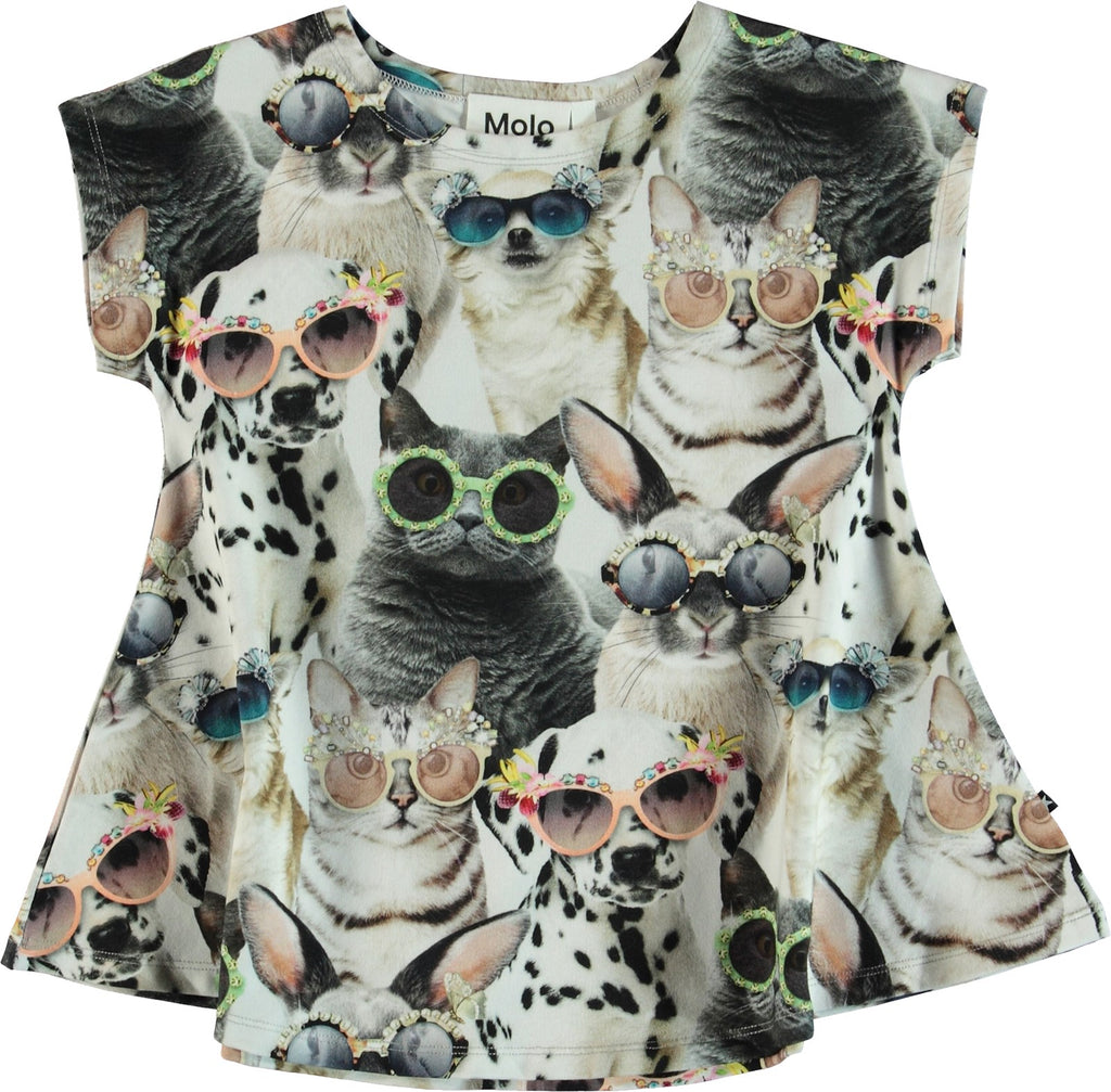 Designer Kids Fashion at Bloom Moda Online Children's Boutique - Molo Riva Blouse,  Blouse