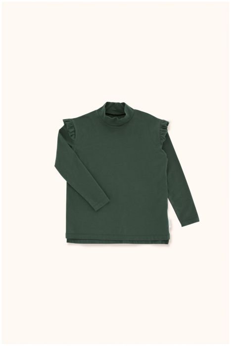 Designer Kids Fashion at Bloom Moda Online Children's Boutique - Tinycottons Mockneck Shirt,  Shirt