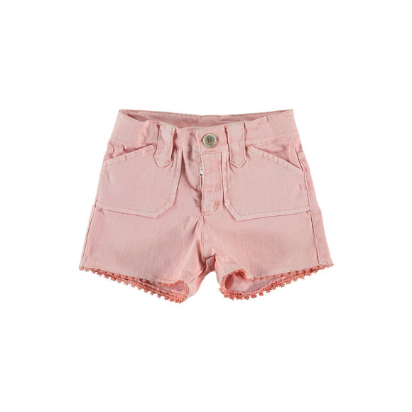 Designer Kids Fashion at Bloom Moda Online Children's Boutique - Búho Emile Cotton Twill Shorts,  Shorts