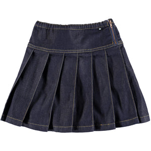 Designer Kids Fashion at Bloom Moda Online Children's Boutique - Molo Bina Denim Skirt,  Skirt