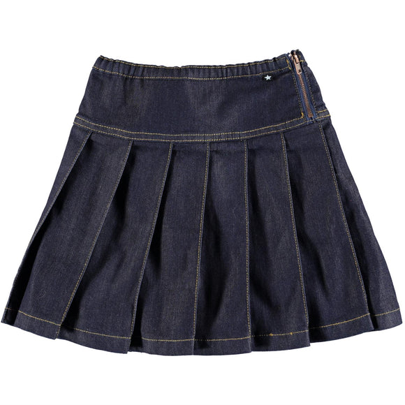 Molo Bina Denim Skirt - Bloom Moda