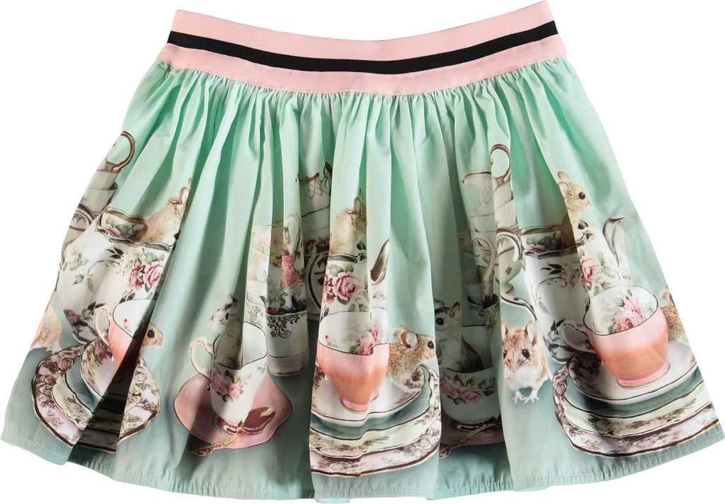 Designer Kids Fashion at Bloom Moda Online Children's Boutique - Molo Brenda Skirt,  Skirt
