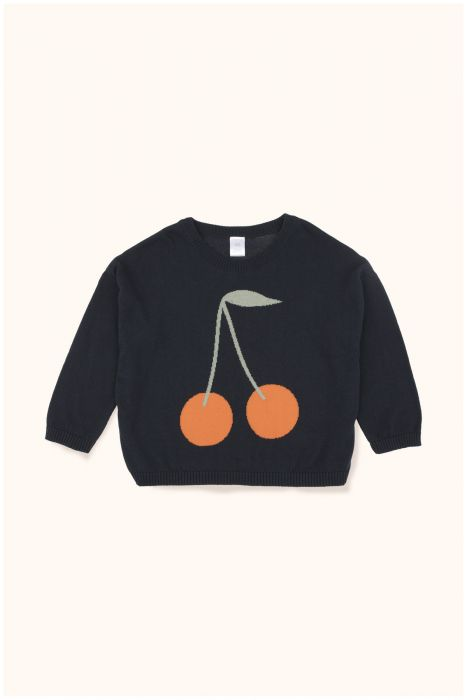 Designer Kids Fashion at Bloom Moda Online Children's Boutique - Tinycottons Cherries Sweater,  Sweaters