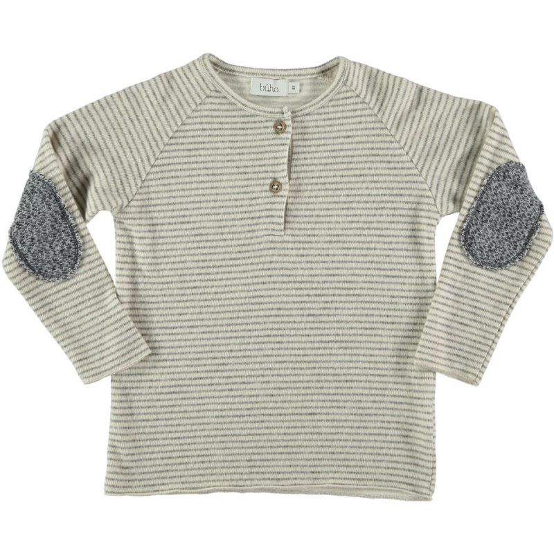 Designer Kids Fashion at Bloom Moda Online Children's Boutique - Buho Leo Stripes Sweater,  Sweaters