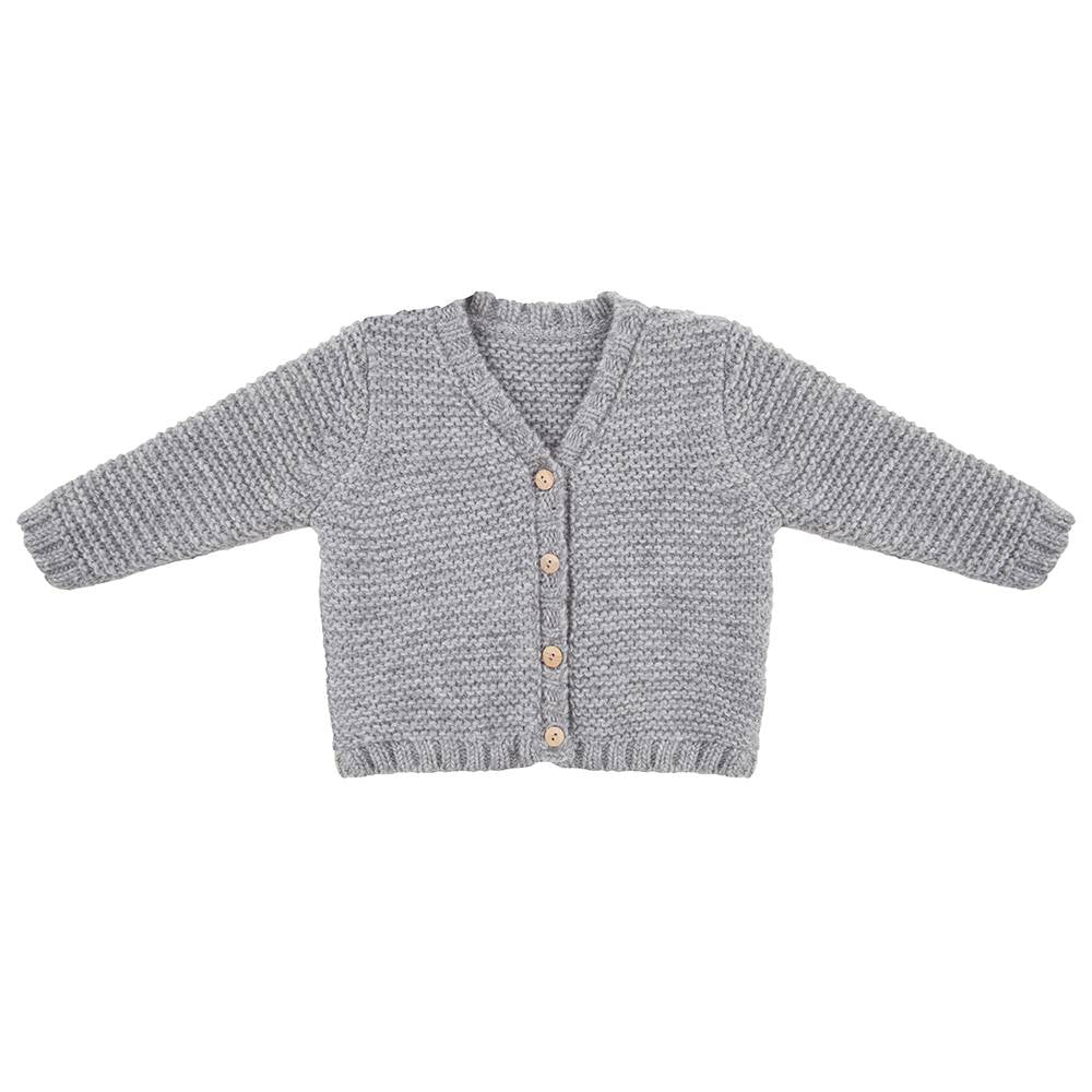 Designer Kids Fashion at Bloom Moda Online Children's Boutique - Little Indians Knit Cardigan Sweater,  Sweater