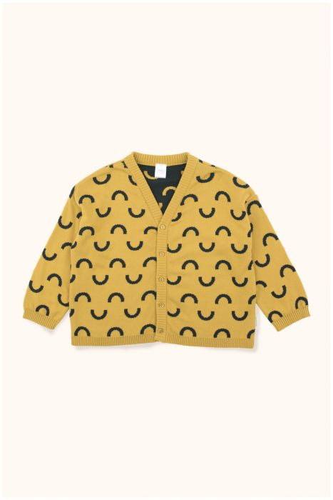 Designer Kids Fashion at Bloom Moda Online Children's Boutique - Tinycottons Semicircles Cardigan Sweater,  Sweaters