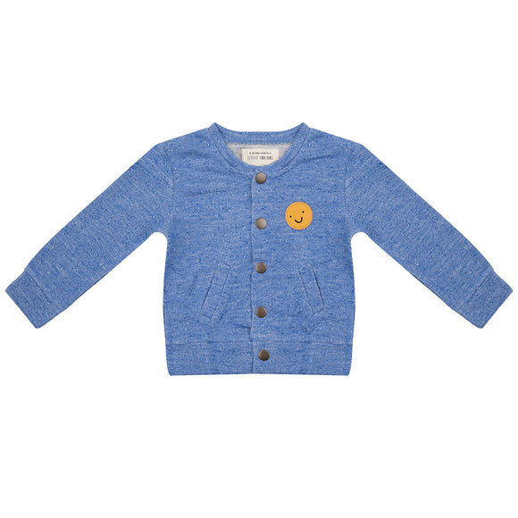 Little Indians Happy Faces Baseball Jacket - Bloom Moda