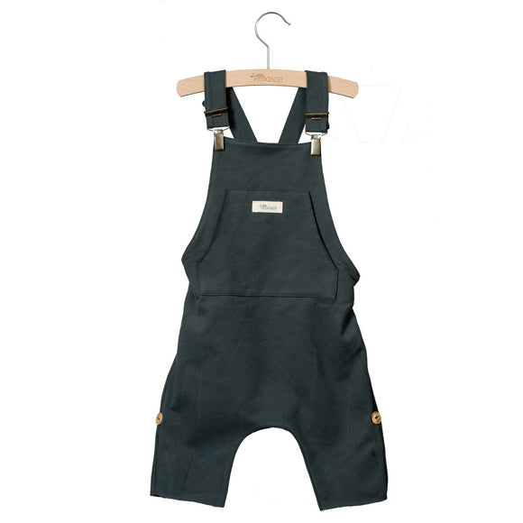 Designer Kids Fashion at Bloom Moda Online Children's Boutique - Little Hedonist Lolita Salopette Shorts - Pirate Black,  Shorts