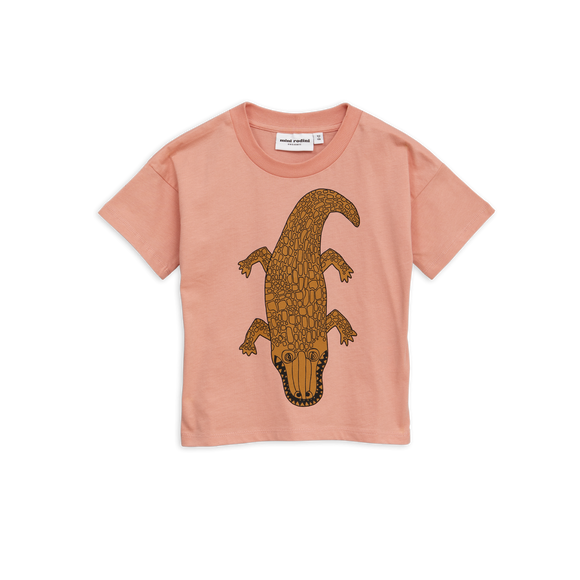 Designer Kids Fashion at Bloom Moda Online Children's Boutique - Mini Rodini Crocco Pink T-Shirt,  Shirt