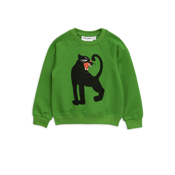 Designer Kids Fashion at Bloom Moda Online Children's Boutique - Mini Rodini Panther Sweatshirt,  Shirt
