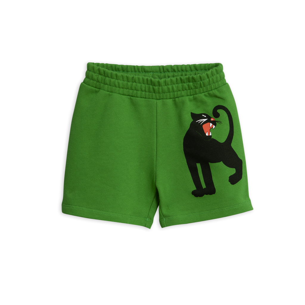 Designer Kids Fashion at Bloom Moda Online Children's Boutique - Mini Rodini Panther Sweatshorts,  Shorts