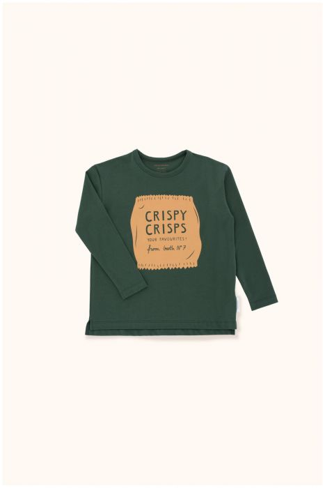 Designer Kids Fashion at Bloom Moda Online Children's Boutique - Tinycottons Crispy Crisps Graphic Shirt,  Shirt