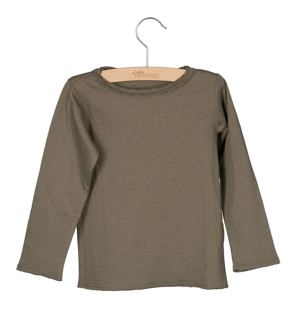 Designer Kids Fashion at Bloom Moda Online Children's Boutique - Little Hedonist Elana Long Sleeve Shirt,  Shirt