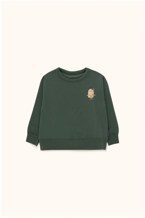 Designer Kids Fashion at Bloom Moda Online Children's Boutique - Tinycottons Friendly Bag Fleece Sweatshirt,  Shirt
