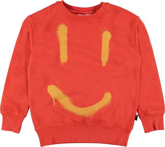 Designer Kids Fashion at Bloom Moda Online Children's Boutique - Molo Main Sweatshirt,  Shirt