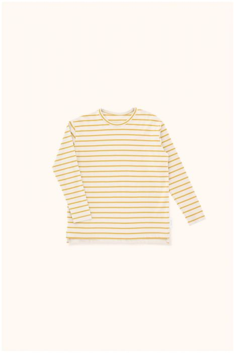 Designer Kids Fashion at Bloom Moda Online Children's Boutique - Tinycottons Small Stripes Relaxed Shirt,  Shirt