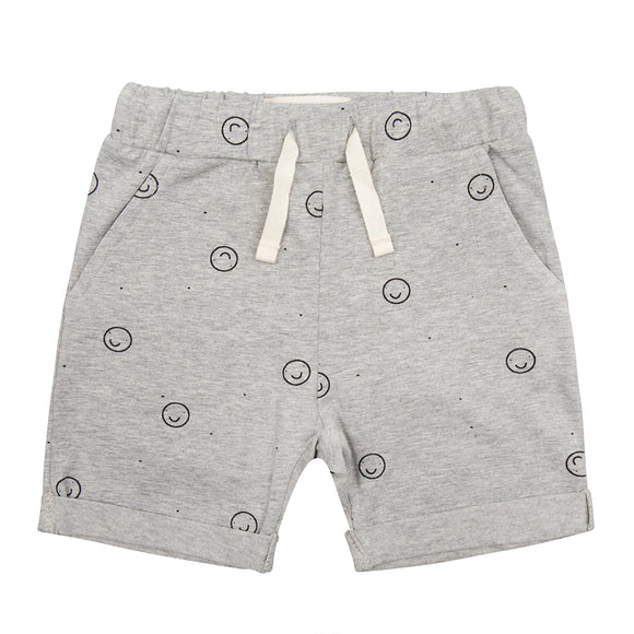 Little Indians Happy Faces Shorts - Bloom Moda