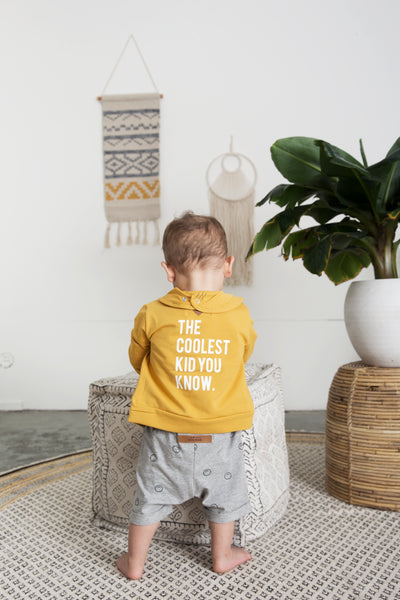 Designer Kids Fashion at Bloom Moda Online Children's Boutique - Little Indians Happy Faces Baseball Jacket,  Cardigan