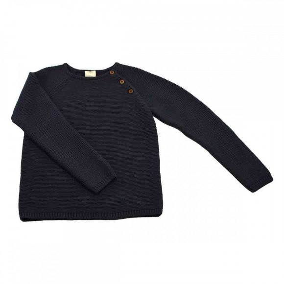 Designer Kids Fashion at Bloom Moda Online Children's Boutique - Lililotte Nantes Clement Knit Sweater,  Sweaters