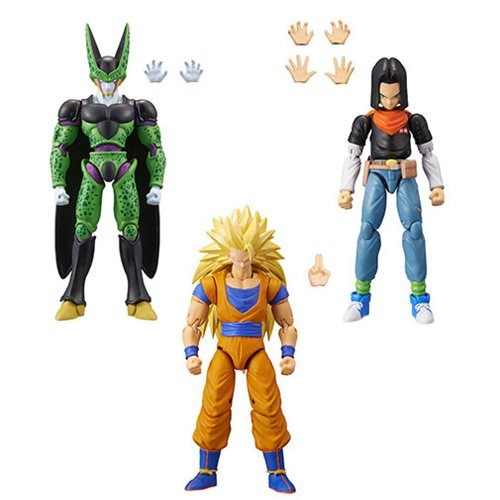 Dragon Ball Stars Action Figure Wave 10 Case (SET OF 3)