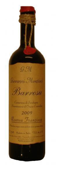 Giovanni Montisci - Giovanni Montisci - Barrosu Riserva Franzisca DOC Sardegna 2013 - Buy Red Online Hong Kong - Cheese Meets Wine