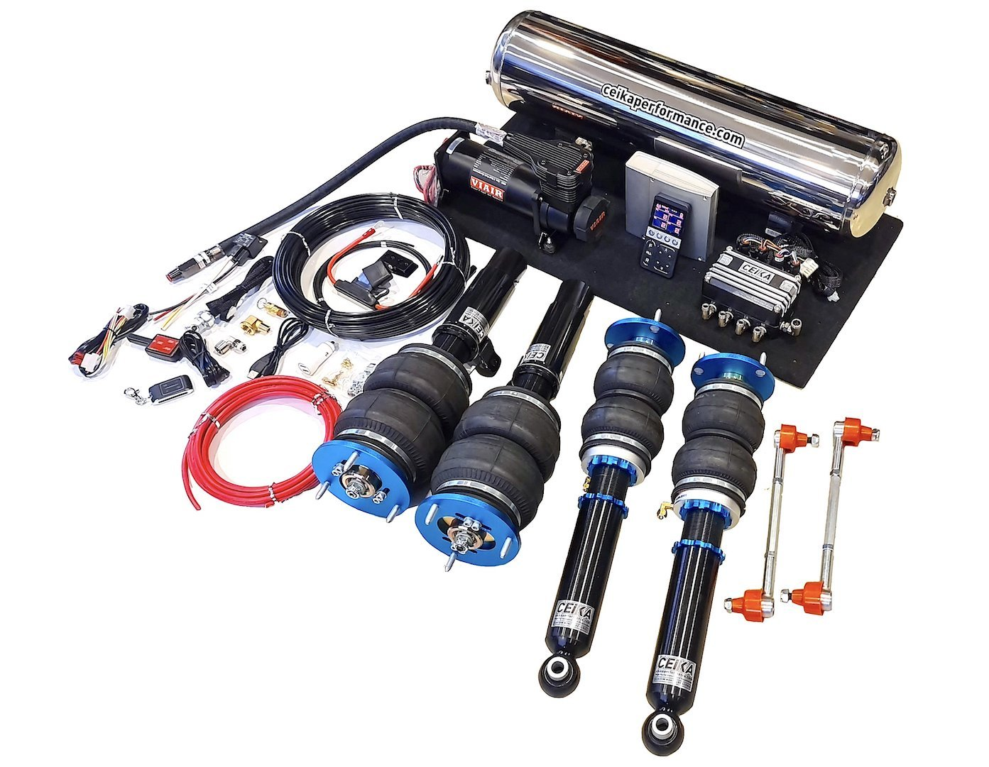 CEIKA Air Ride Coilover Kit for VOLKSWAGEN PASSAT B7 SEDAN 3C 2WD φ55 (10~15)