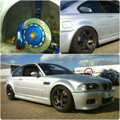 CEIKA Type 1M Coilovers for BMW 3-series E46 (98~05) Rear Coilovers Conversion